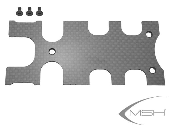 MSH Protos Max V2 Hintere Carbon Abdeckung FBL Träger # MSH71016