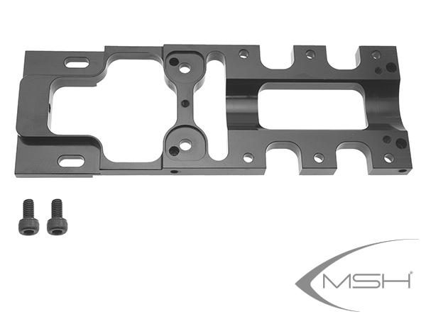 MSH Protos Max V2 Hintere Grundplatte Alu # MSH71017