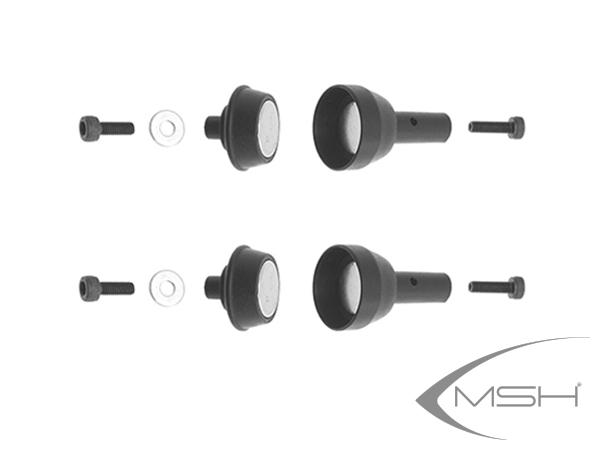 MSH Protos Max V2 Magnet Haubenverschlüsse (2x) # MSH71022