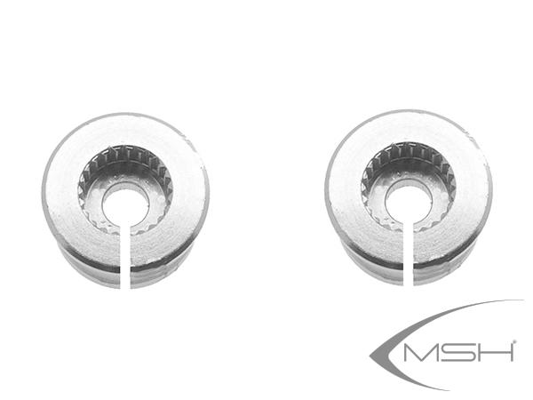 MSH Protos Max V2 Servohorn Adapter Futaba (2x) # MSH71050