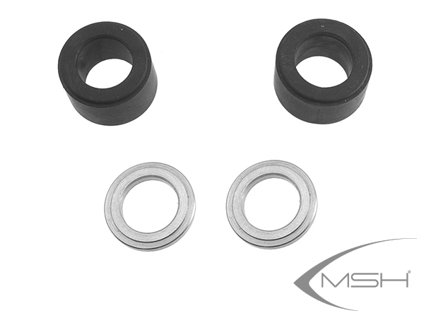 MSH Protos Max V2 Kopfdämpfung standard (schwarz) # MSH71056