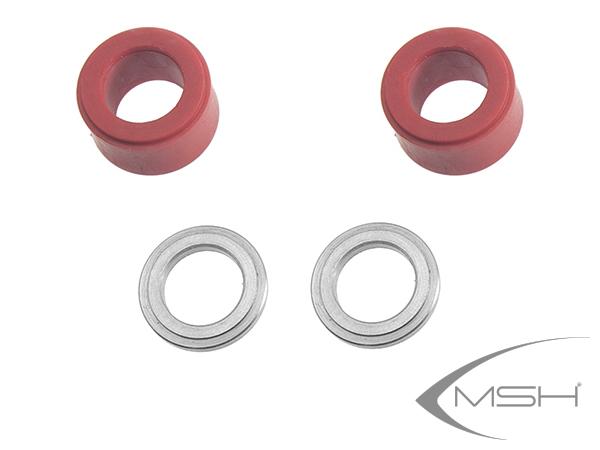 MSH Protos Max V2 Harte Kopfdämpfung 3D (rot) # MSH71057