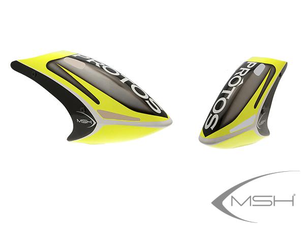 MSH Protos Max V2 Haube lackiert FG Neon gelb # MSH71170