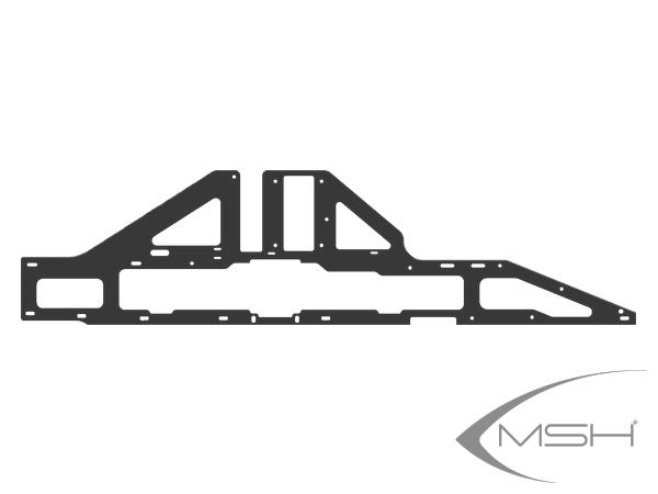 MSH Protos Max V2 / EVO / Leggero Carbon Hauptrahmenplatte V2 (1x) # MSH71238