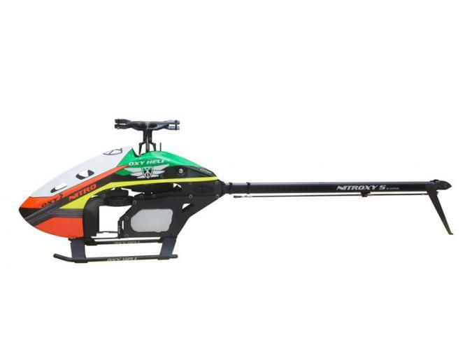 OXY Heli OXY5 Nitro NITROXY 5 Helikopter Kit (ohne Rotorblätter) # NITROXY5-1