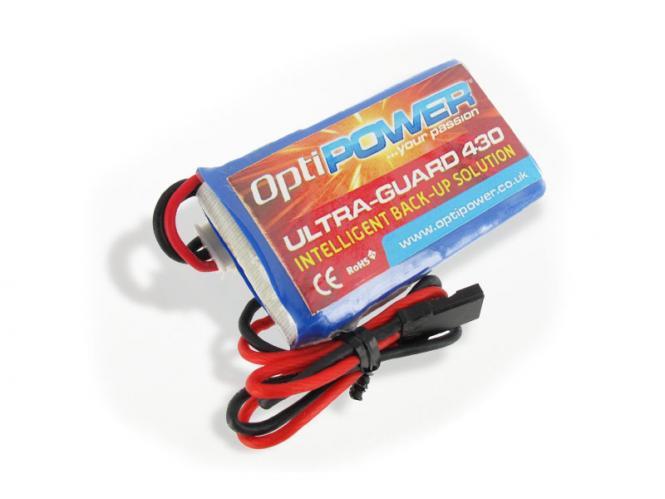 OptiPOWER Ultra-Guard 430 mit 2S LiPo # OPRUS2S