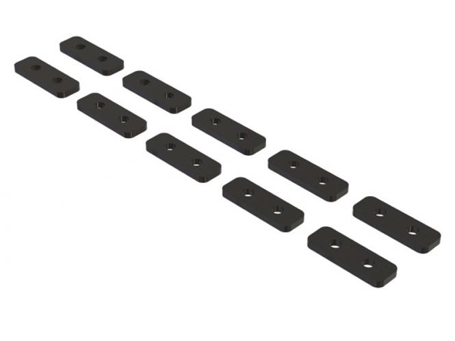 OXY Heli Servo Plättchen für Mini (35mm) Servos CF # OSP-1350