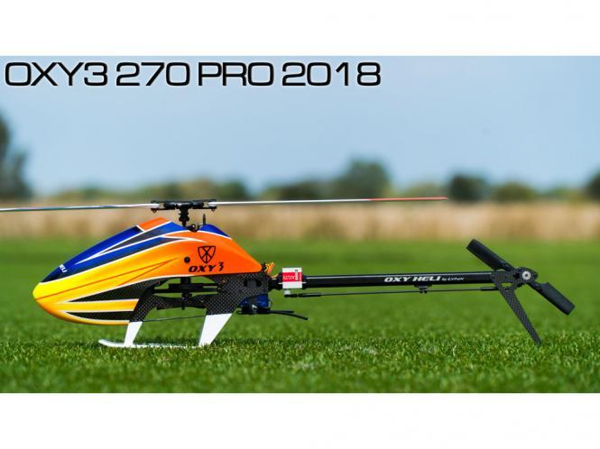 OXY Heli OXY3 270 PRO 2018 Kit mit Zeal VariPro 273mm Blätter # OXY3-270P