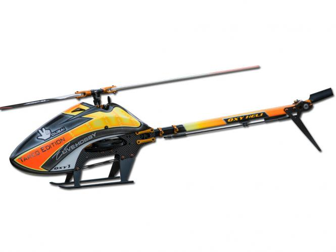 OXY Heli OXY3 Tareq Edition 2018 Helikopter Kit mit Zeal VariPro 287mm Blätter # OXY3-TE2018