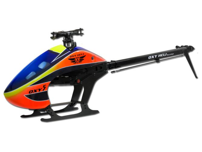 OXY Heli OXY5 Helicopter Kit (without Rotorblade) # OXY5-NB