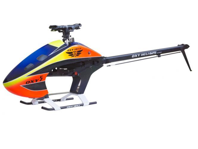 OXY Heli OXY5 MEG 625 Helikopter Kit (ohne Rotorblätter) # OXY5MEG-NBP