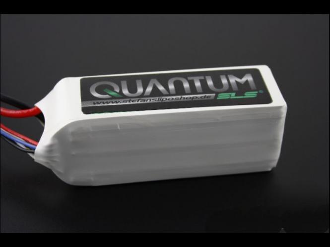 SLS Quantum 3000mAh 6S1P 22,2V 30C/60C # SLSQ30006130