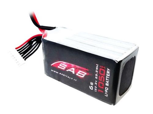 SAB LIPO 6S 1050 mAh 50C # SAB-SB128