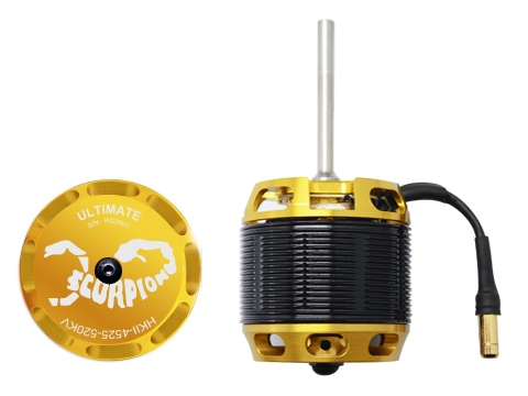 Scorpion HKII-4525-520KV ULTIMATE Brushless Motor # HKII-4525-520