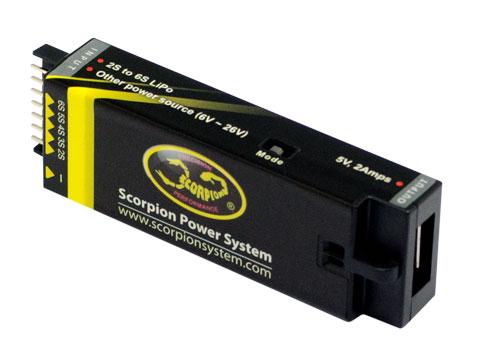 Scorpion Portable USB Charger / Mobiles USB Ladegerät # SCO-1161