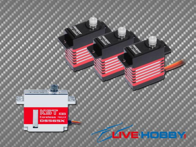 Servoset 3x DS-2304HV 1x DS565X # DS-2304HV-DS565X
