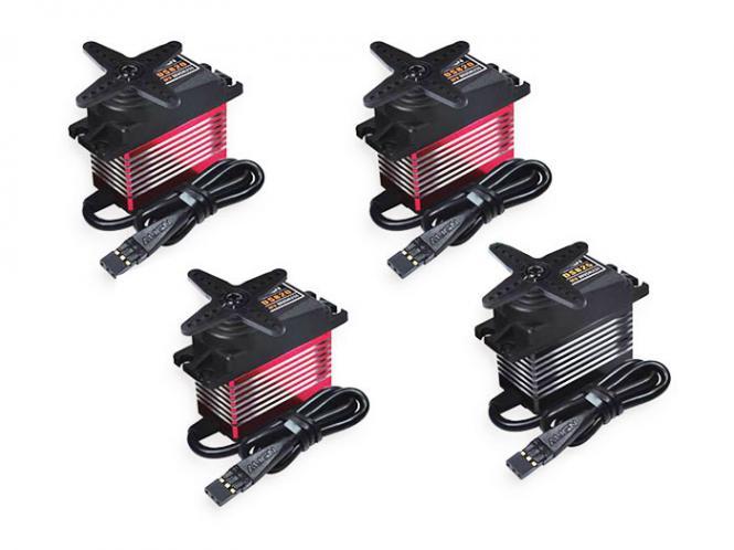 Align Servo Set 3x DS820 1x DS825 High Voltage Brushless # HSD820P-SET