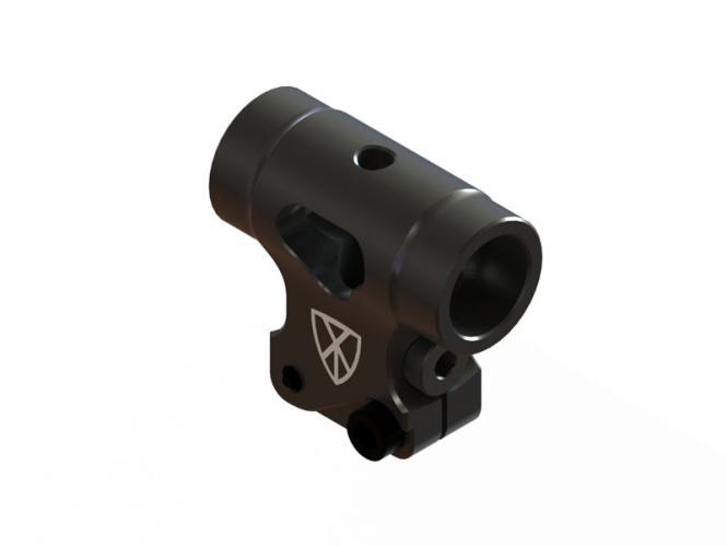 OXY Heli OXY2 Rotorkopfzentralstück CNC Alu schwarz # SP-OXY2-001