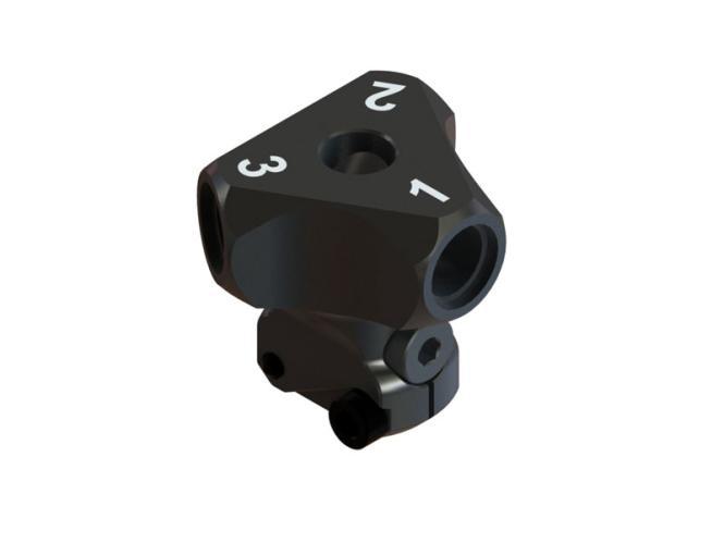 OXY Heli OXY2 Qube 3 Blatt Rotorkopfzentralstück # SP-OXY2-087