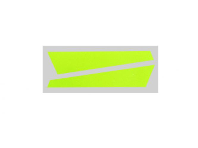 OXY Heli OXY3 Hechfinnenaufkleber gelb # SP-OXY3-081