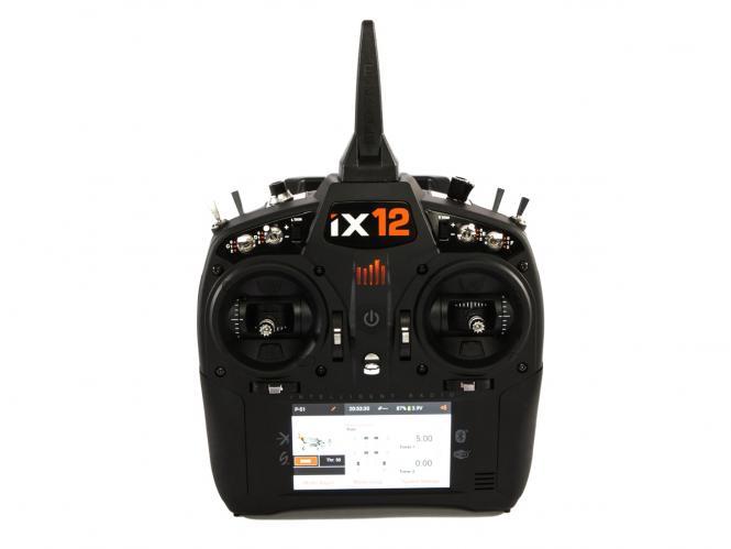 Spektrum iX12 12-Kanal Fernsteuerung DSMX # SPMR12000EU