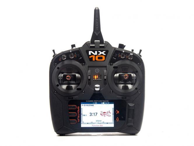 Spektrum NX10 10 Kanal Einzelsender # SPMR10100EU