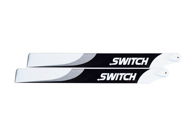 SwitchBlades 553 mm Carbon Hauptrotorblätter # SW-553