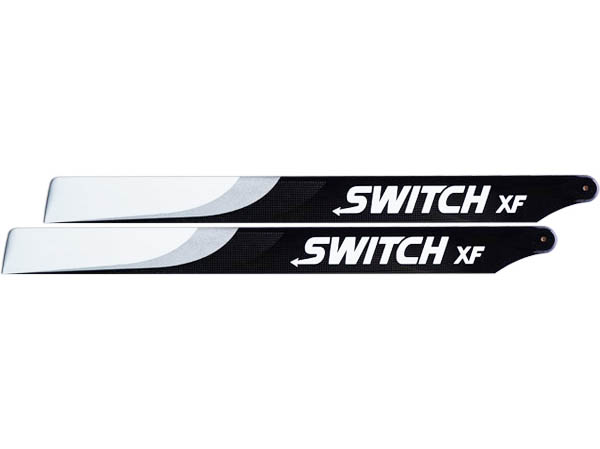 SwitchBlades 713 mm XF Carbon Hauptrotorblätter - Extreme Flight Edition # SW-713-XF