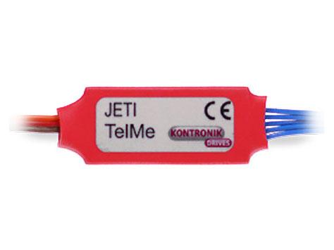Kontronik KOSMIK / JIVE PRO TelME JETI Telemetriemodul # 9770