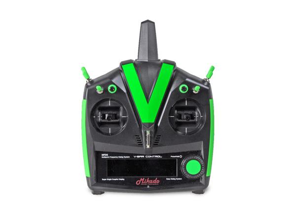 Mikado VBar Control Custom Line, schwarz-neongrün, VBar NEO # 05217