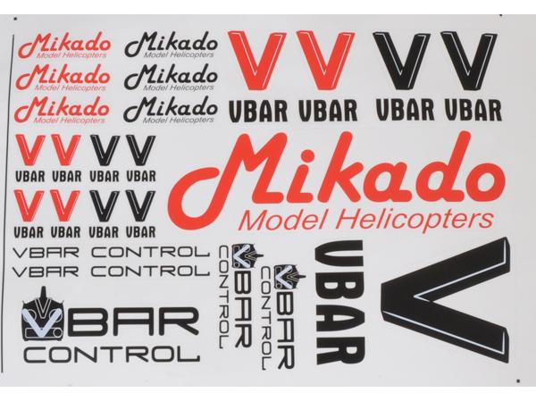Mikado VBar / VControl Aufkleber-Set # 04901
