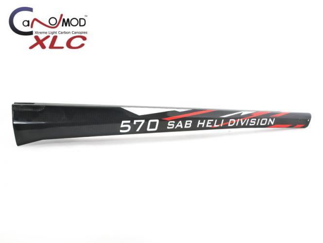 Canomod Goblin 570 RedW - Carbon Heckrohr # XLC-GB570-B05