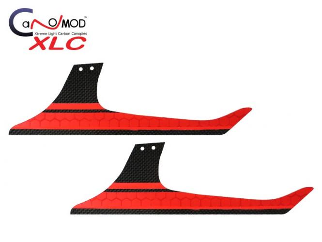 Canomod Goblin 700 Speed Red Eyes - Low Profile Landekufen # XLC-GB700SP-L02