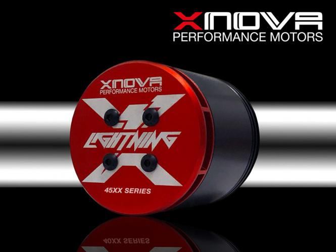 XNOVA Lightning 4525-530KV - 6/56mm Welle F # XN-LG-4525-530-F