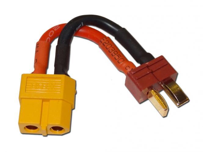 Adapter T-Plug zu XT60 # ZB-AD-80001A