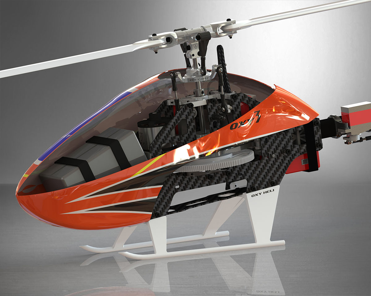 Live Oxy Heli Oxy3 Helicopter Kit With Motor