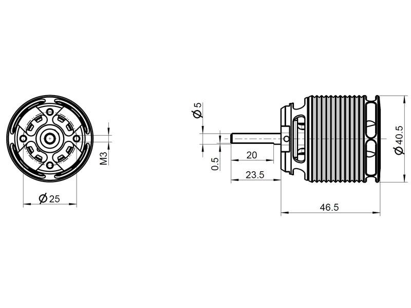 kontronik brushless motor minipyro 400 15 27107 live. Black Bedroom Furniture Sets. Home Design Ideas