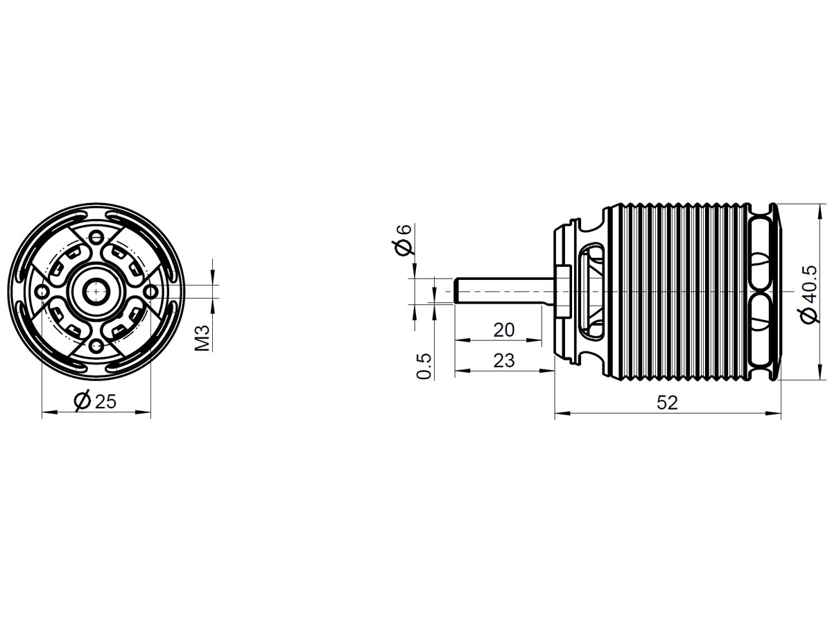 live kontronik brushless motor pyro 600 12. Black Bedroom Furniture Sets. Home Design Ideas