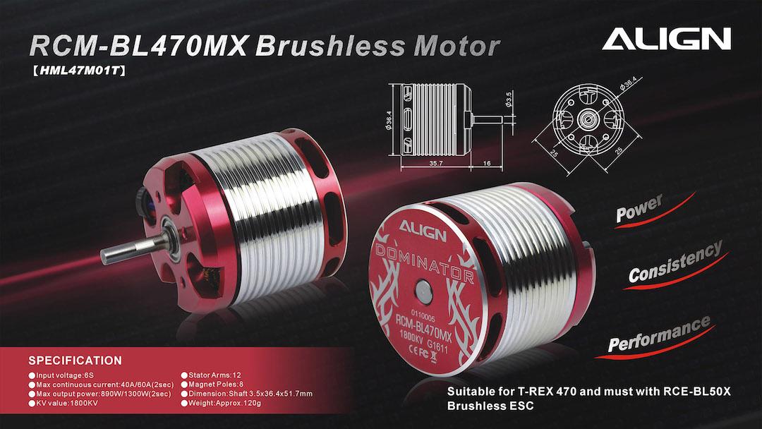 align 470mx brushless motor 1800kv rcm bl470mx lose hml47m01l live. Black Bedroom Furniture Sets. Home Design Ideas