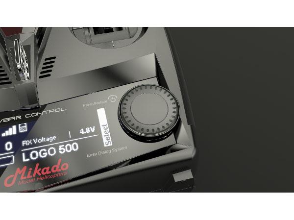 Mikado VBar Control Radio with VBar NEO, black # 04970   Live-Hobby de