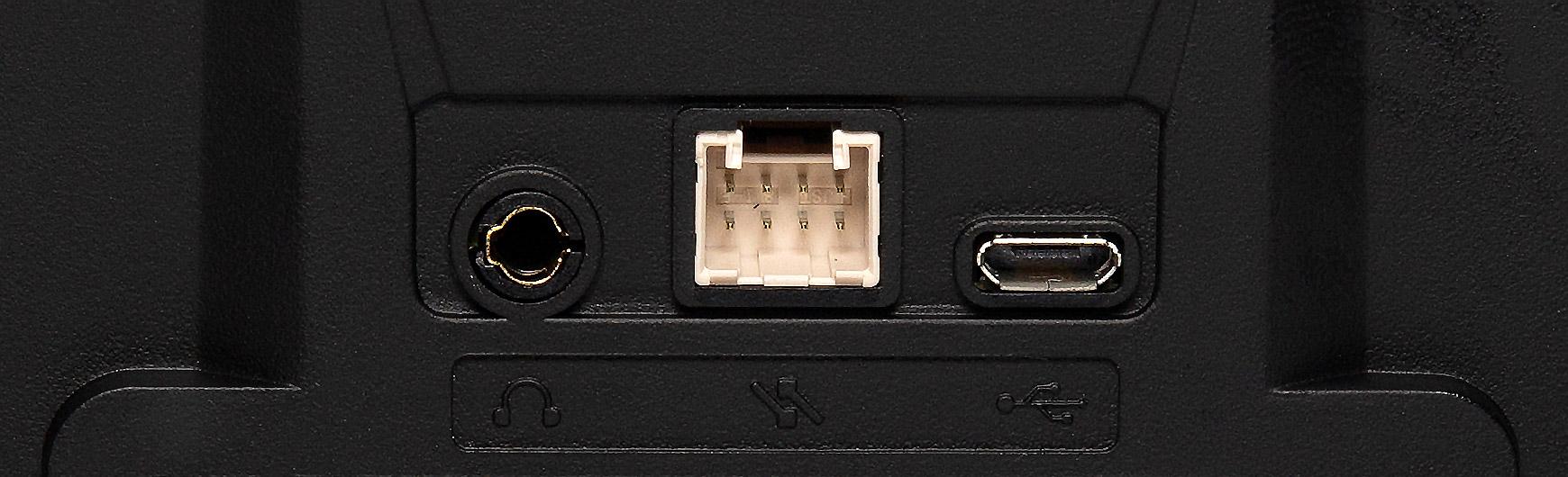 USB AND AUDIO JACK